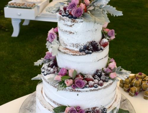 ¿Cómo elegir el pastel ideal para tu boda?